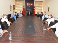 Ordulular Derneğinden Vali Orhan Tavlı'ya Ziyaret