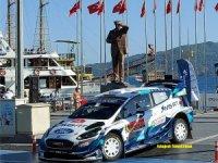 (WRC) FIA Dünya Ralli  Şampiyonası Marmaris'te Başladı