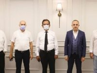 UGTF'den Ak Parti İl Başkanı Sürekli'ye Ziyaret