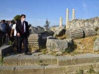 Vali Tavlı, Letoon ve Tlos Antik Kentlerinde İncelemelerde