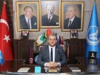 Ey büyük Atatürk, emanetin ülkücü Türk gençliğinin himayesinde