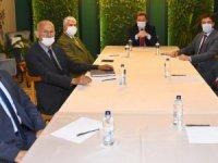 Vali Orhan Tavlı Bodrum, Fethiye ve Marmaris Deniz Ticaret Odası Temsilcileri İle Bir Araya Geldi