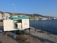 Marmaris'te 'Deniz Suyu Arıtma Sistemi'ni hayata geçirdi