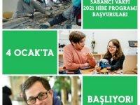 Sabancı Vakfı 2021 Hibe Programı Başvuruları 4 Ocak'ta Başlıyor