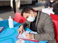 AK Parti Marmaris İlçe Teşkilatından kan bağışı