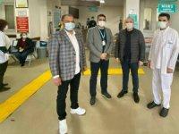 Marmaris'te Sağlık Personeli Covid 19 Aşılama Çalışmaları Başladı