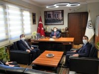 Vali Tavlı Başkan Tokat'ı Ziyaret Etti