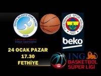 Fethiye'de Tarihi Maç: Fenerbahçe Fethiye'ye İlk Defa Geliyor