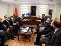 CHP Genel Başkan Yardımcısı Akın, Alim Karaca'yı ziyaret etti