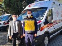 Acil Sağlık Ordusuna Yeni Ambulanslar Katıldı