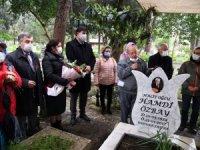 Hamdi Özbay mezarı başında anıldı