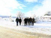 Başkan Gürün'den Kar Mesaisi