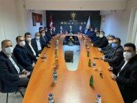 13 İlçe Başkanı ve Belediye Başkanların'danKadem Mete 'ye Tam destek