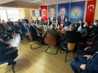 MHP'li Yöneticiler Ak Partiyi Ziyaret Etti