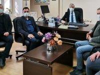 AK Partililerden Vergi Dairesine Ziyaret