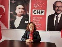 CHP Marmaris Kadın Kolları Başkanı Zehra Gezer: Şiddet kader değildir, kederdir!