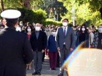Fethiye Belediye Personeli 'İstiklal Marşı' okudu