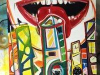 Kolombiyalı Ressam Fethiye Sokaklarını Süslüyor