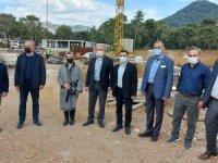Mete, Marmaris Devlet Hastane İnşaatını İnceledi