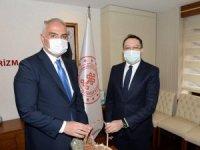 Başkan Ayhan Bakan Ersoy'a Görüştü