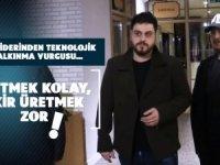 ÜRETMEK KOLAY, FİKİR ÜRETMEK ZOR !