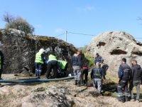 Roma Dönemine Ait Kaya Mezarları Bodrum Turizmine Kazandırılacak