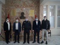 Ak Partililerden Emniyet Müdürlüğüne Ziyaret