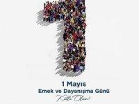 """CHP'li Balcı: """"1 Mayıs; Alın teriyle, emeğiyle, fedakarca çalışanların bayramı"""
