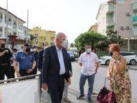 Marmaris Kaymakamı Aksoy Pazaryerlerini Denetledi