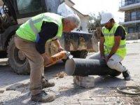 Palamutbükü'ünde İçme Suyu Hatları Yenileniyor
