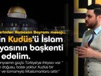 Baş: Gelin Kudüs'ü İslam dünyasının başkenti ilan edelim