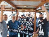Marmaris Beşiktaşlılar Cemiyeti Şampiyonluğu Tekne Turuyla Kutladı