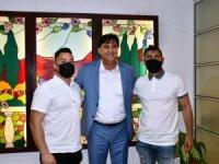 Şampiyonlar Karaca'yı Ziyaret Etti