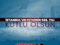 BTP liderinden Atatürklü fetih mesajı