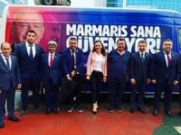 CHP Marmaris İlçe Yönetimi Ankara'da