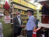 Milletvekili Yakup Taş Besni Esnafını Ziyaret Etti