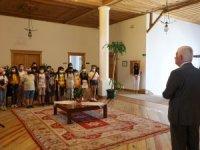 Büyükşehir Hizmet Binası Minik Ziyaretçileri Ağırladı
