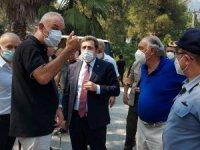 Marmaris'teki Orman Yangını Siyasiler ve Bürokratlar Endişeyle Takip Etti