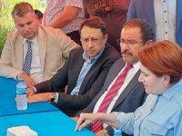 İYİ Parti Genel Başkanı Akşener, Marmaris'te yangınlardan etkilenen mahalleleri ziyaret etti