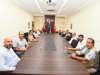 Cemiyet Yönetiminden Vali Tavlı'ya ziyaret