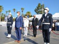 Marmaris'te Çelenk Sunma Töreni Yapıldı