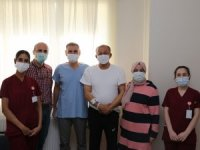 Diş tedavisi için geldiği memleketinde aort damarı değiştirildi