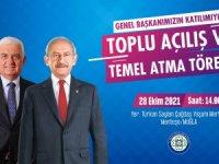 Kılıçdaroğlu, Büyükşehir Yatırımları İçin Muğla'ya Geliyor