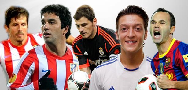 La Liganın yıldızlarından Erdoğana Hoşgeldin
