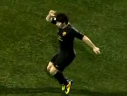 Messi Sabriye özendi